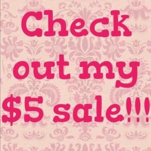 $5 items can be bundled for a discount!